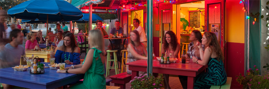 The Brand New Taco Bar at Bud and Alley's Restaurant