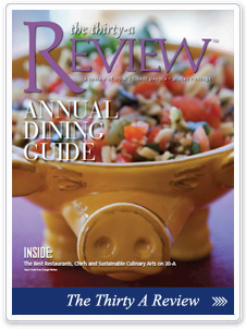 read about us in The Thirty-A Review Magazine!